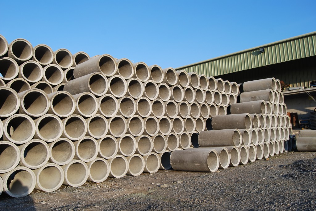 Concrete Sewer Pipe Sizes : Photo tracey concrete