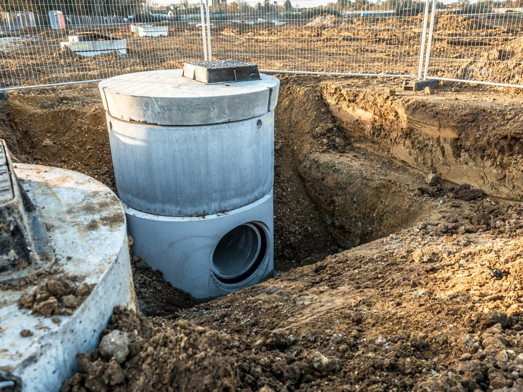 Wide Wall Manhole Chamber System