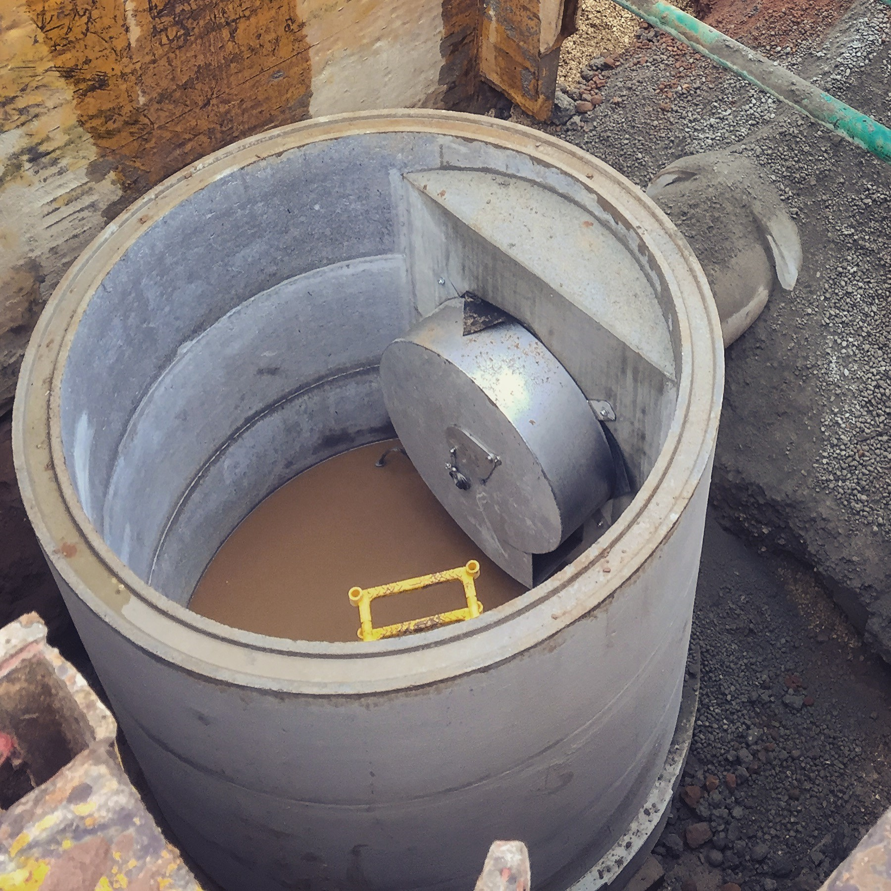 Flow Control Chamber Hydro Brake Tracey Concrete Tracey