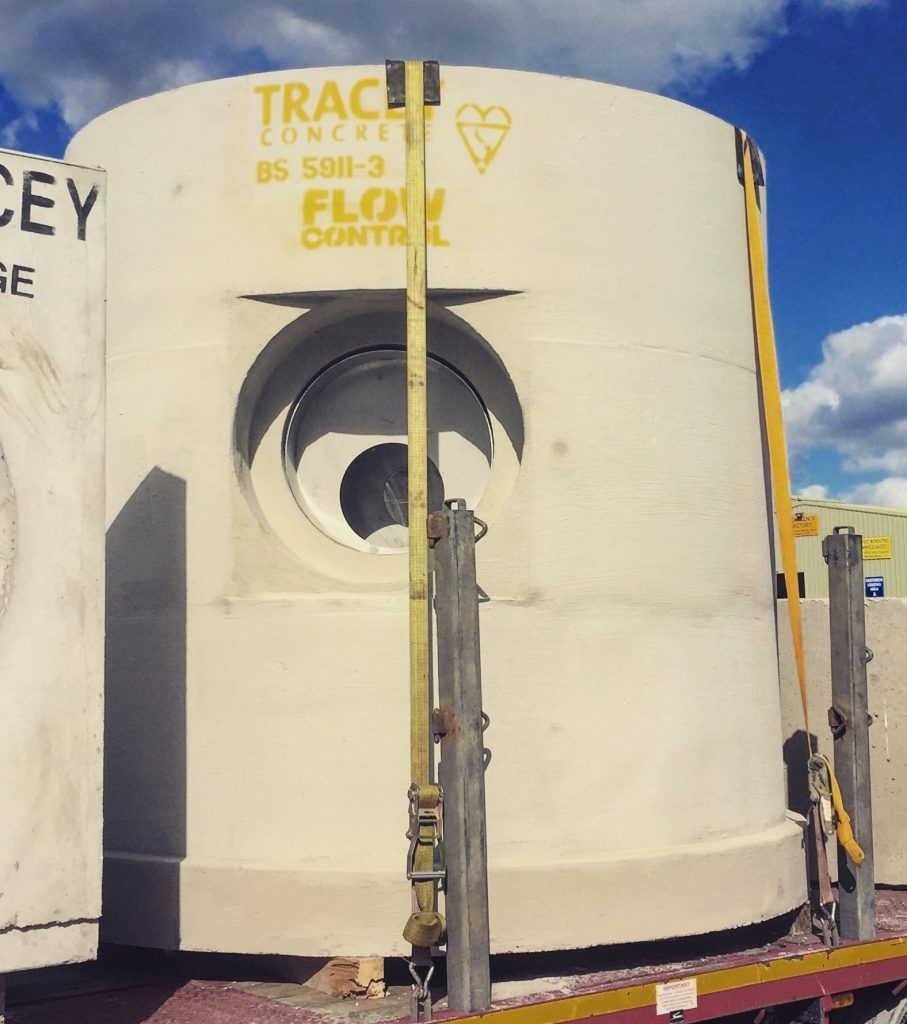 Flow Control Chamber Tracey Concrete