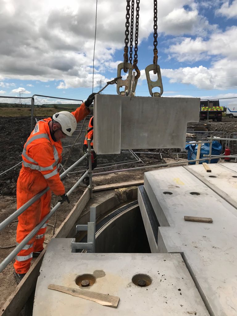 Tracey Concrete Shaft Slab
